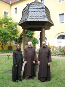 (v.l.) P. Jean, P. Ulrich, P. Günter